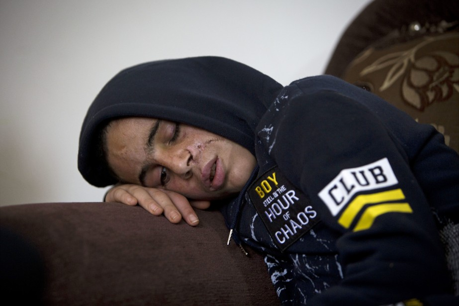 Mohammed Tamimi... (Photo AP)