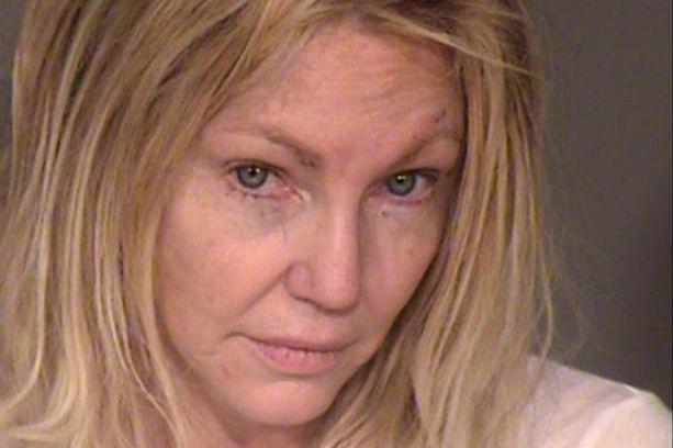 Heather Locklear, après son arrestation... (Photo fournie par le Ventura County Sheriff's Office, Associated Press)