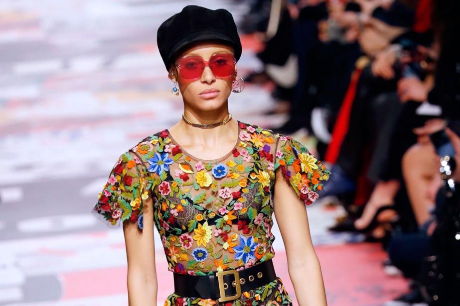 Une création Dior... (Photo AFP)