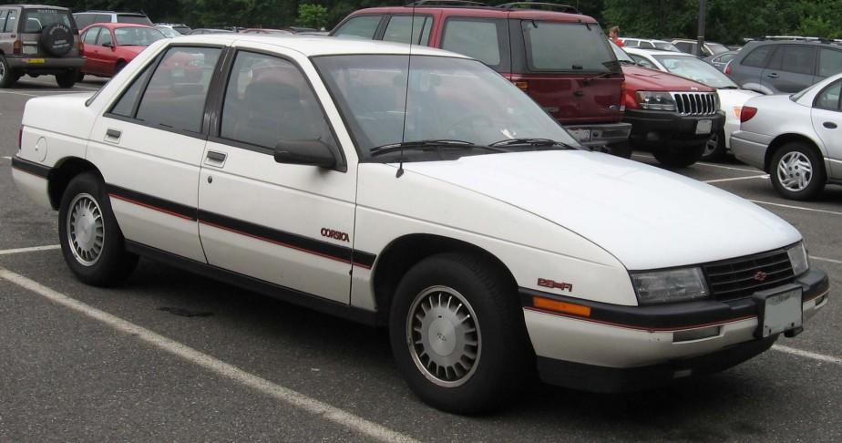 Sa pire voiture : un autre bazou --blanc, celui-là-- qui arrêtait tout le temps au milieu de la route. Il croit que ce devait être une Chevrolet Corsica.    | 27 février 2018