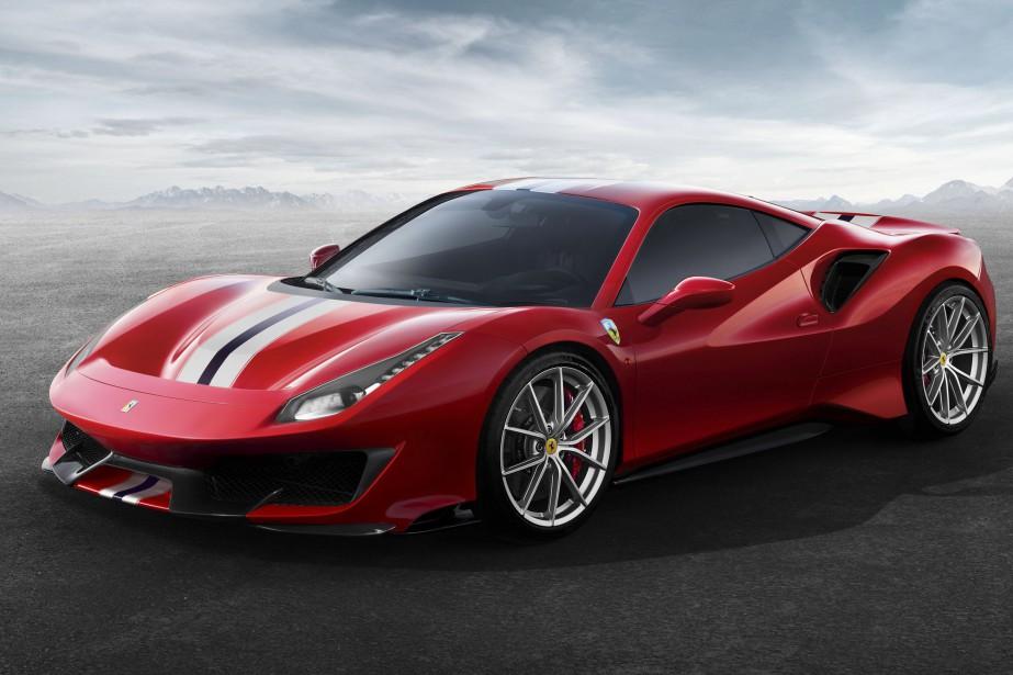 Ferrari 488 - crédit: Ferrari...
