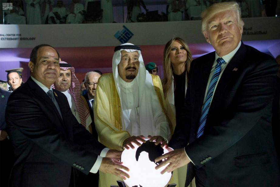 Le premier déplacement à l'étranger du président Donald... (ARCHIVES AP)