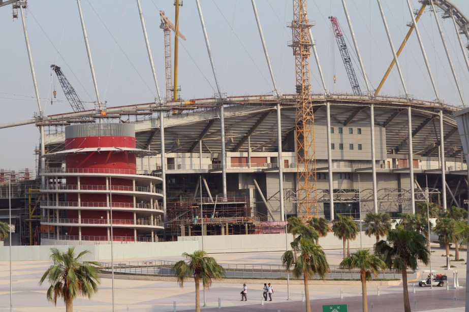 Le stade Khalifa a été le premier équipement... (PHOTO REUTERS)