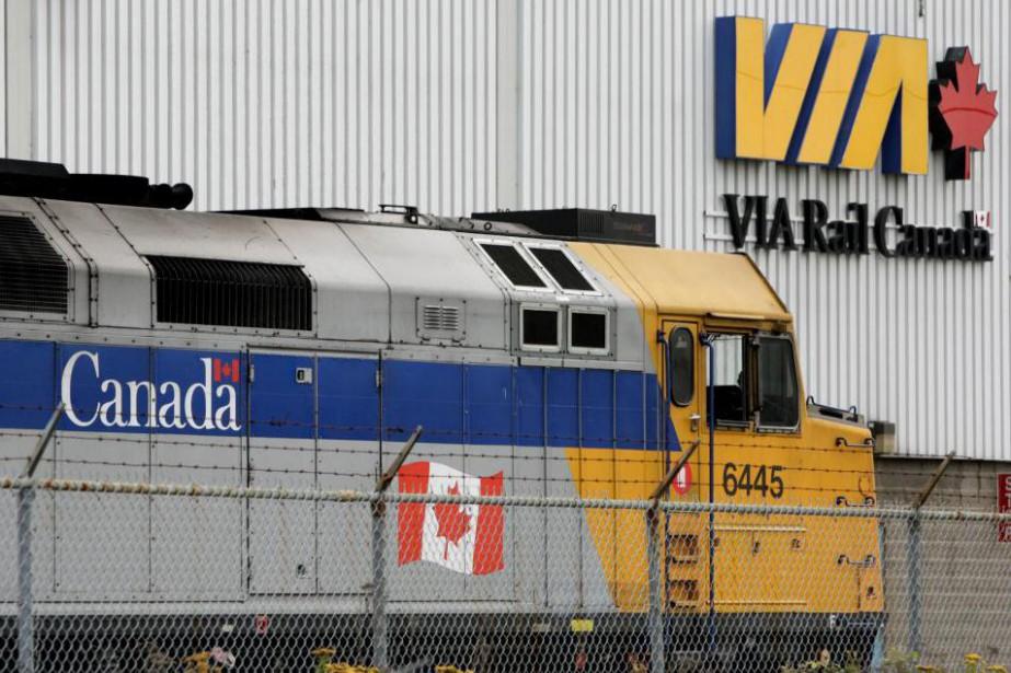 L'ensemble de la flotte des wagons et des... (photoDarryl Dyck, archives la presse canadienne)