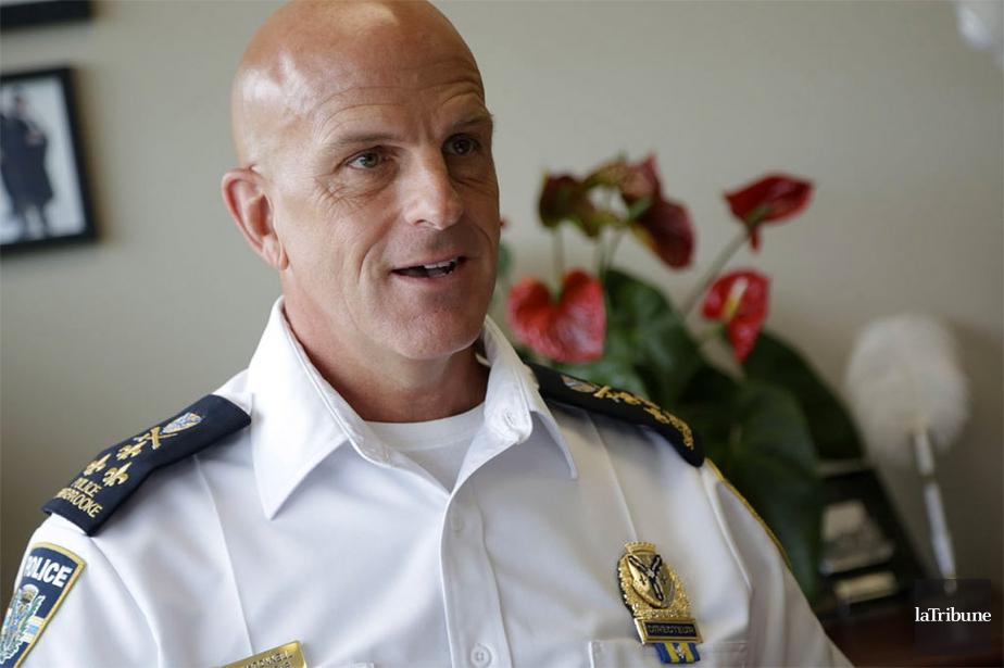 Le directeur du Service de police de Sherbrooke,... (Archives La Tribune)