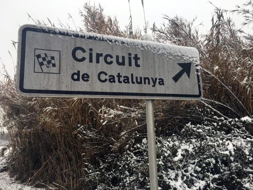 La matinée était plus froide dans la région de Barcelone qu'à Montréal aujourd'hui. | 28 février 2018