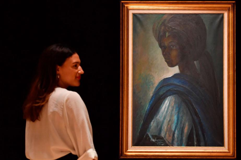 Une «Mona Lisa africaine», véritable «icône» au Nigeria, s'est envolée mercredi...