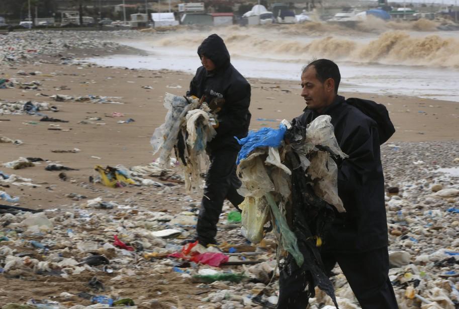 Le Liban souffre depuis des décennies d'une crise... (PHOTO AP)