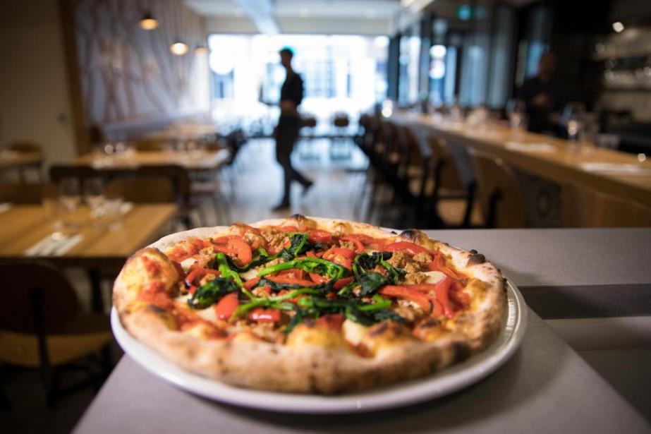 La pizzéria Heirloom offre des pizzas à la... (Photo Ivanoh Demers, La Presse)