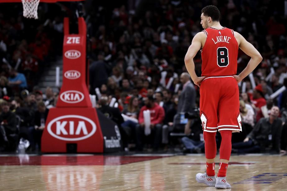 Zach LaVine des Bulls de Chicago... (Photo Nam Y. Huh, AP)