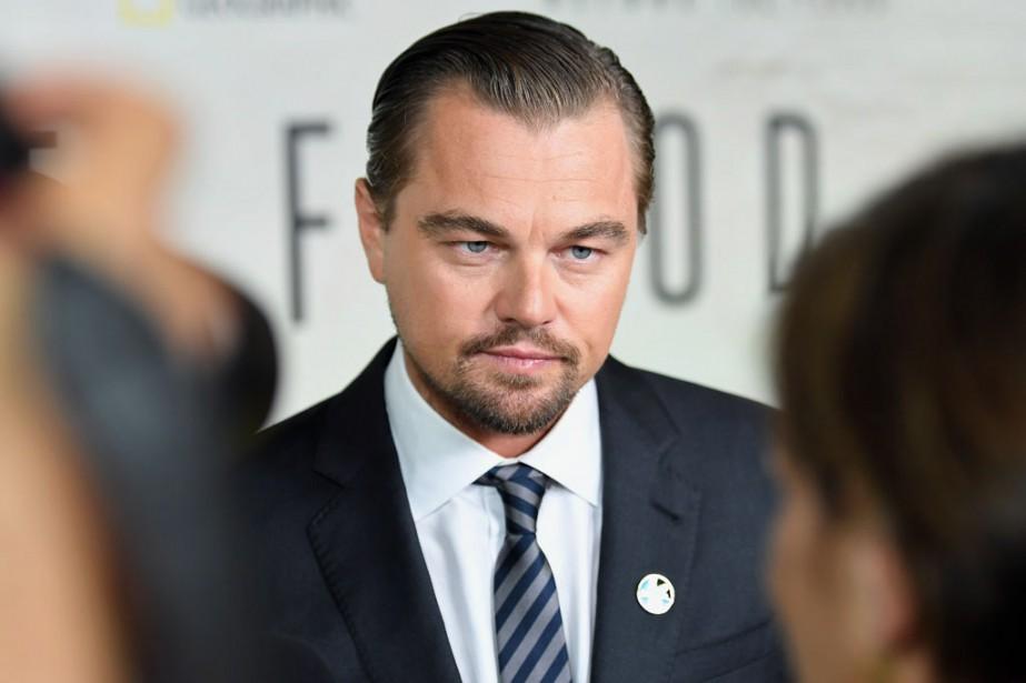 L'acteur Leonardo DiCaprio... (Photo Angela Weiss, archives Agence France-Presse)