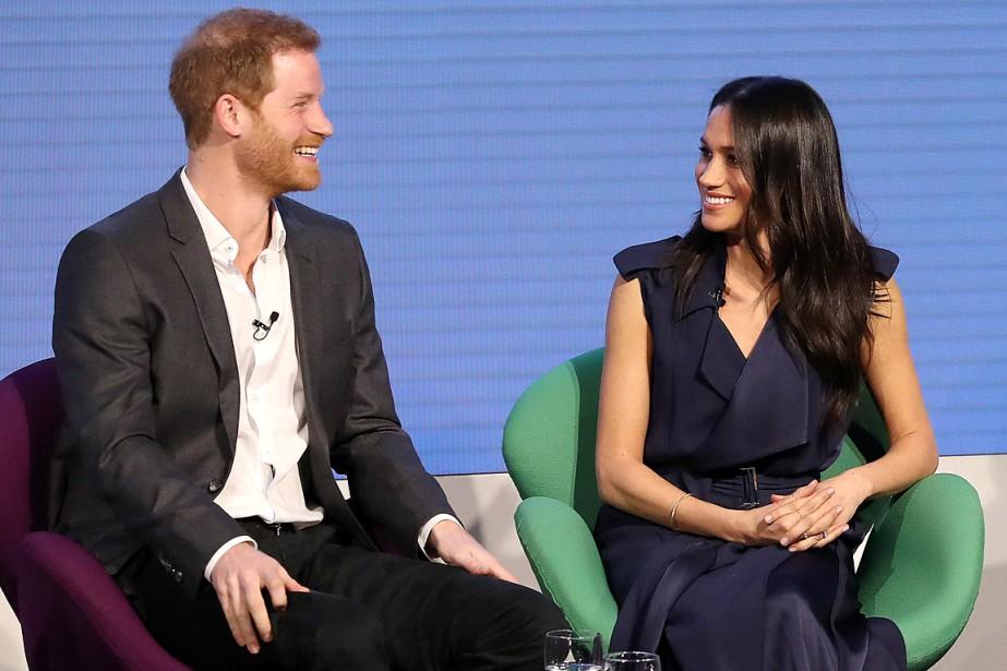Le prince Harry et sa fiancée Meghan Markle... (PHOTO CHRIS JACKSON, REUTERS)