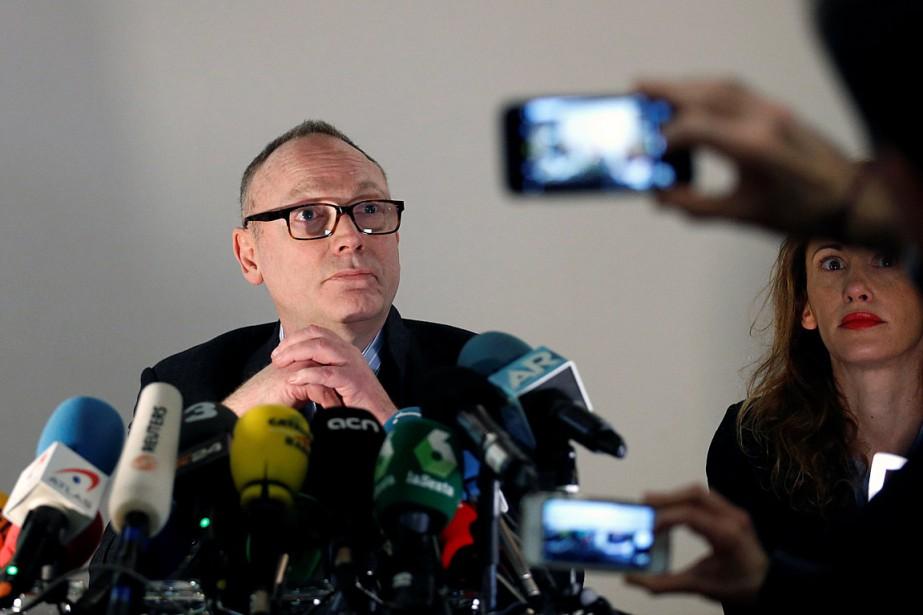Lors d'une conférence de presse vendredi,l'avocat Ben Emmerson... (PHOTO FRANÇOIS LENOIR, REUTERS)