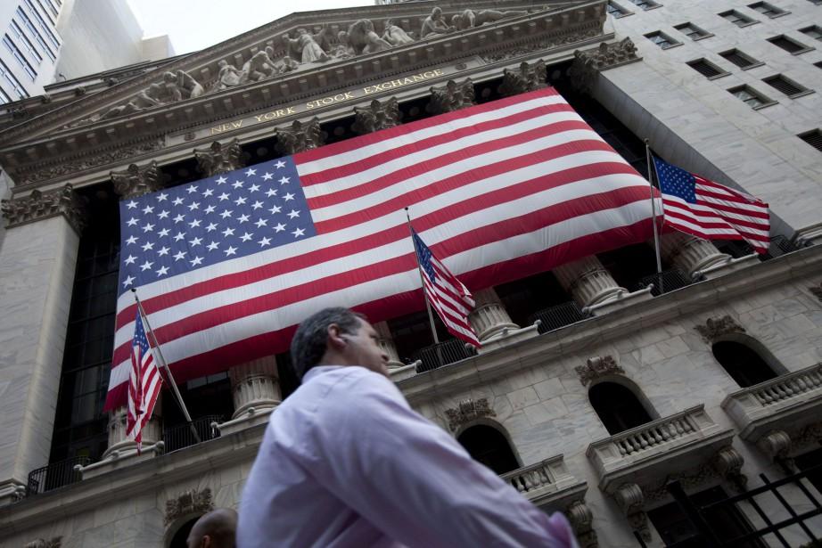 Wall Street a fini en ordre dispersé vendredi,... (Photo Jin Lee, archives AP)