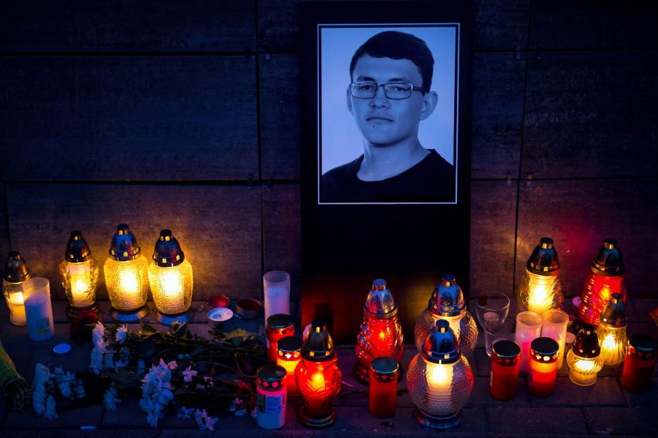 Les corps de l'homme de 27 ans et... (PHOTO Jan Kuciak , AFP)
