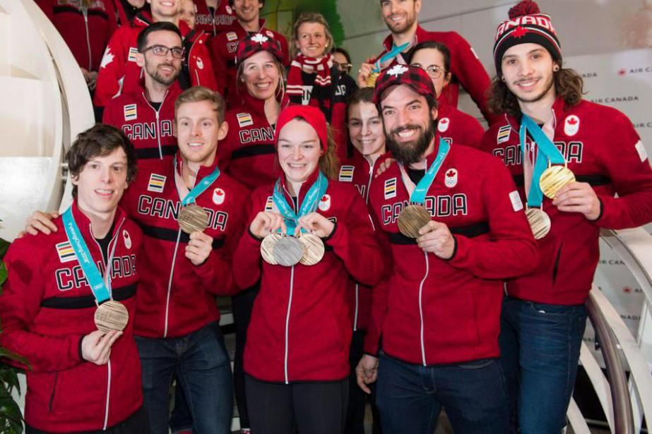 «Les athlètes qui ont participé aux Jeux sont... (photo graham hughes, la presse canadienne)