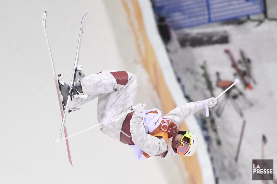 Mikaël Kingsbury aux Jeux de PyeongChang.... (Photo Bernard Brault, archives La Presse)