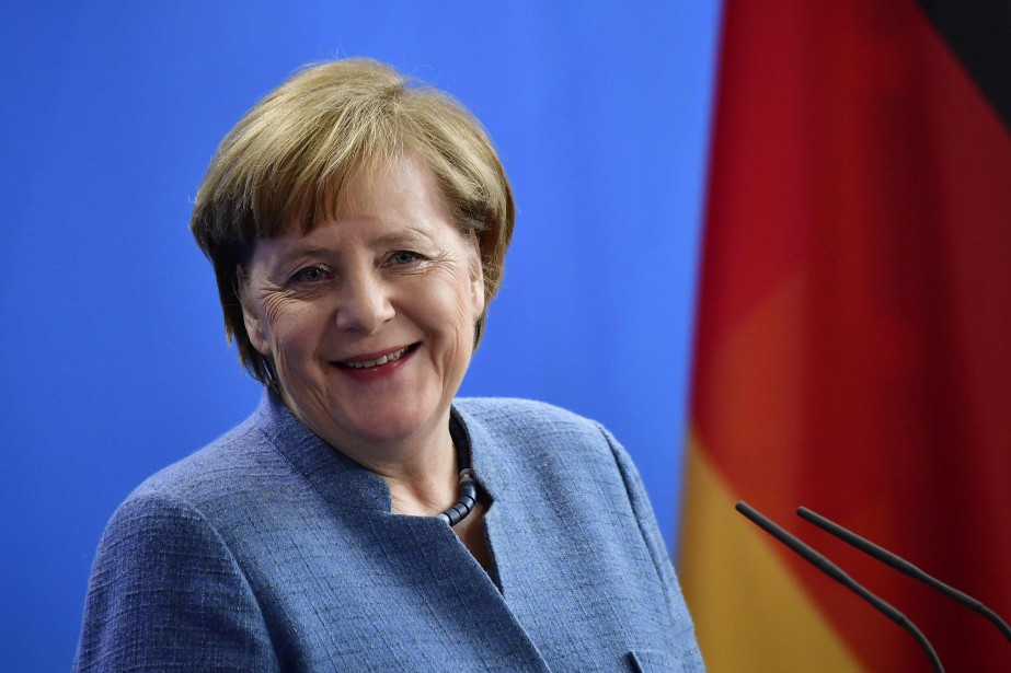 Angela Merkel... (Photo Tobias Schwarz, archives Agence France-Presse)