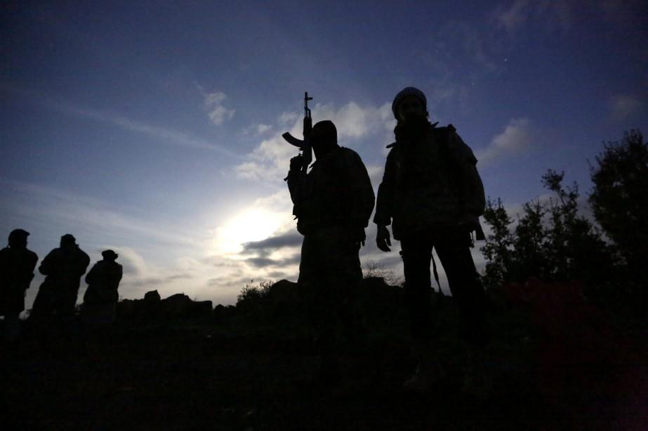 Samedi, l'Observatoire syrien des droits de l'Homme (OSDH)... (Photo Khalil Ashawi, REUTERS)