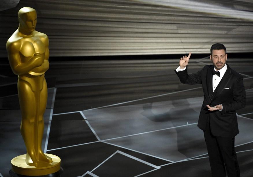 L'animateur de <em>late night</em> Jimmy Kimmel est l'hôte de la 90e cérémonie des Oscars. (AP)