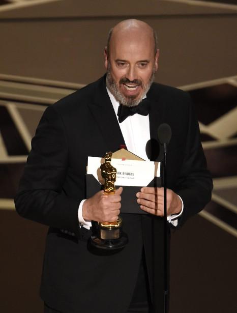 Mark Bridges a été récompensé pour son travail sur les costumes dans <em>Phantom Thread</em> de Paul Thomas Anderson. (AP)