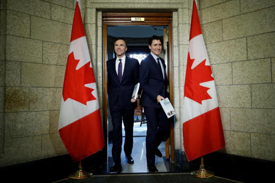 La classe moyenne profitera-t-elle du dernier budget libéral... (PHOTO REUTERS)