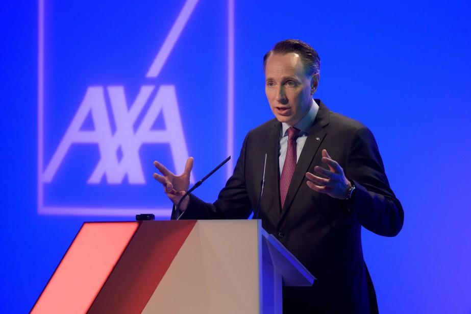 Le PDG d'AXA, Thomas Buberl.... (Photo Éric Piermont, Agence France-Presse)
