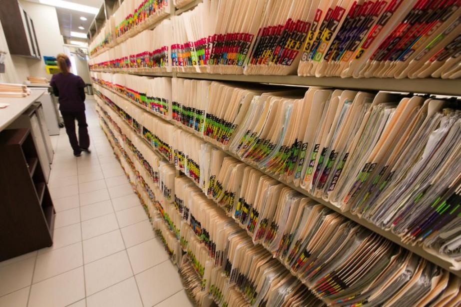 L'Association des gestionnaires de l'information de la santé... (Photo FRançois Roy, archives La Presse)