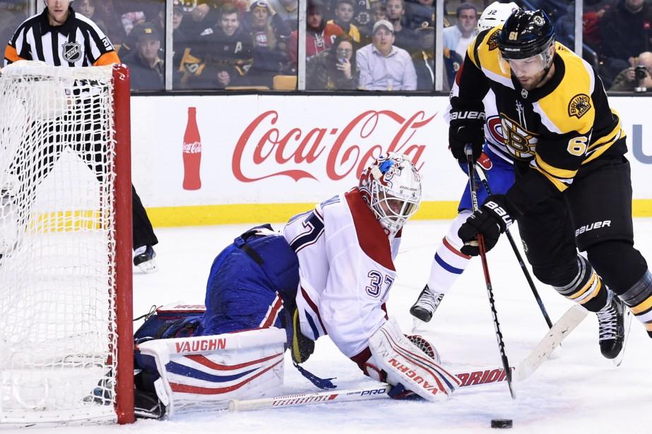 Antti Niemia été criblé de 50 tirs, samedi,... (Photo Bob DeChiara, USA Today Sports)