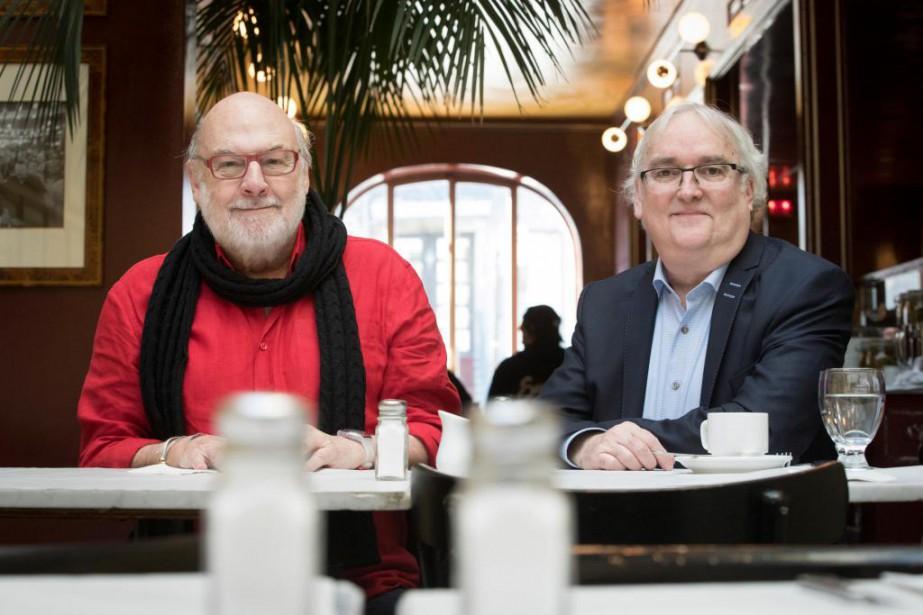 René Homier-Roy fait partie du paysage médiatique depuis... (Photo Ivanoh Demers, La Presse)