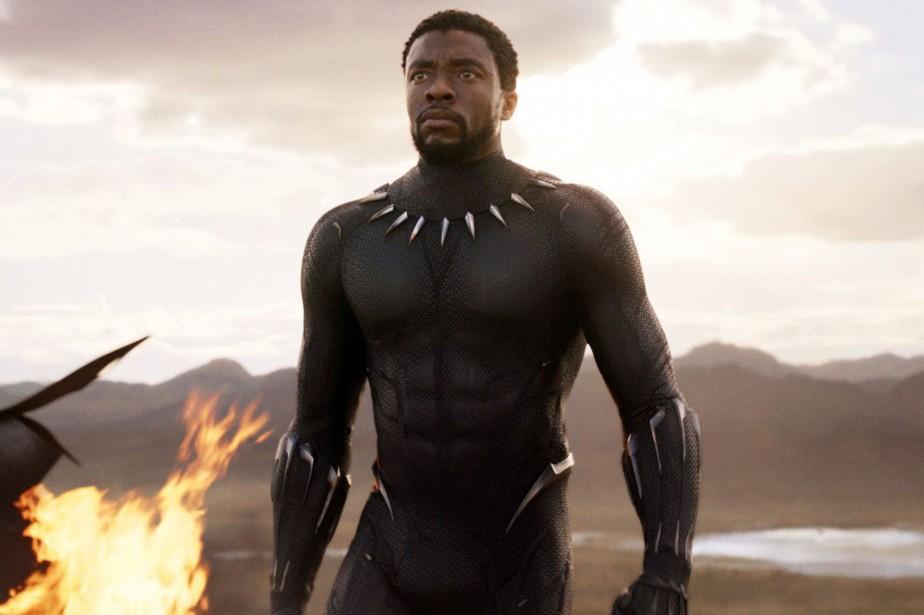 Black Panther n'a cessé d'enchaîner les records depuis... (PHOTO AP)