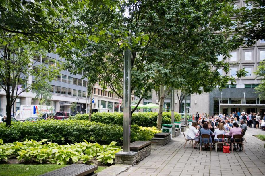 Inauguré en 2002, le Jardin Domtarse trouveau sud-ouest... (Photo Marco Campanozzi, Archives La Presse)