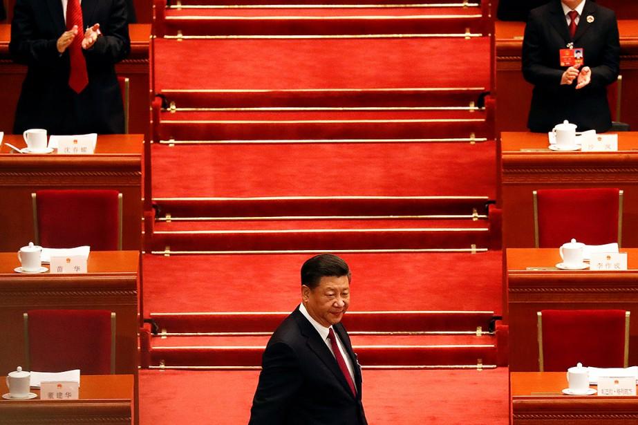 Le Parlement, soumis au Parti communiste chinois (PCC)... (Damir Sagolj, REUTERS)