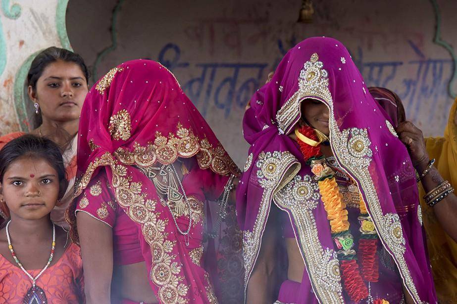 En Inde, l'âge légal du mariage est de... (Prakash Hatvalne, archives AP)
