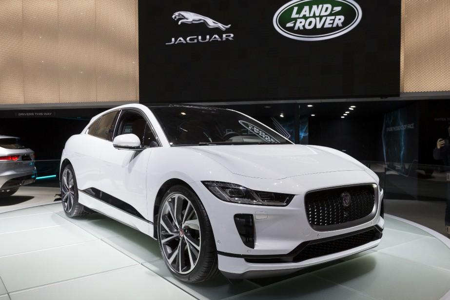 La Jaguar I-PACE. (AP)