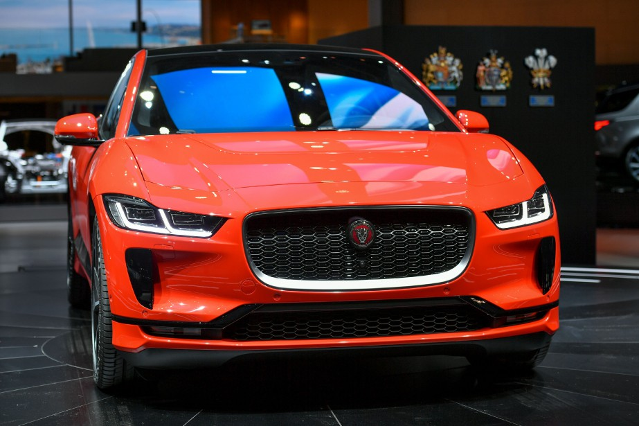 La Jaguar I-PACE. (AFP)