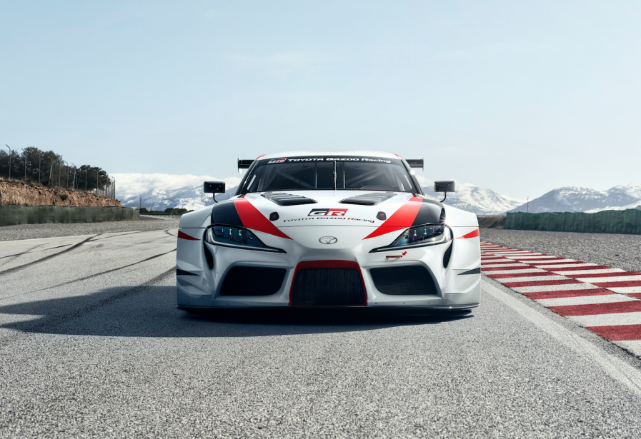 Le prototype Toyota GR Supra Racing ()
