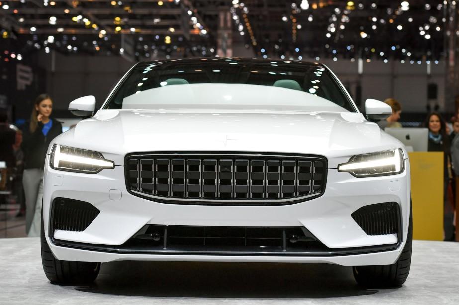 La Polestar 1, une hybride, vient de la sous marque performance de Volvo, Polestar, qui ne fera aucune voiture mue seulement par un moteur à combustion interne. Toutes seront hybrides et, éventuellement, électriques. | 6 mars 2018