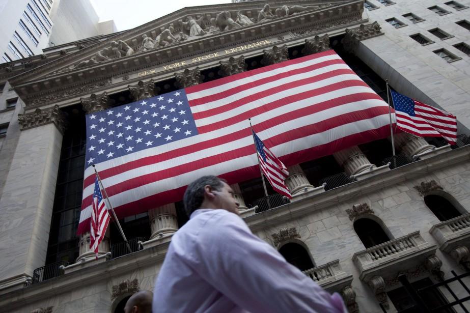 Wall Street a terminé en hausse mardi à l'issue... (Photo Jin Lee, archives AP)