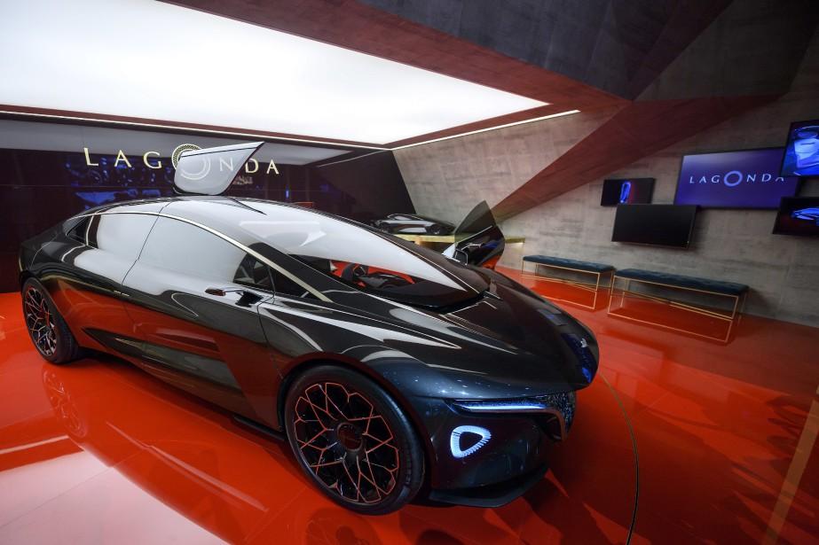 L'Aston-Martin Lagonda Concept. (AP)