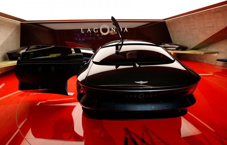 L'Aston-Martin Lagonda Concept. | 6 mars 2018