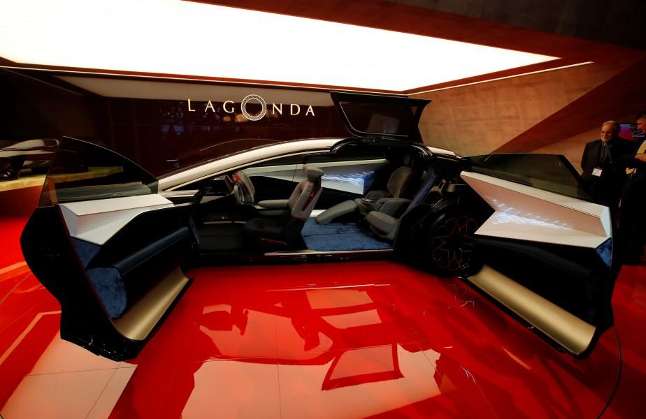 L'Aston-Martin Lagonda Concept. (REUTERS)