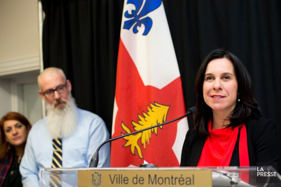 La mairesse de Montréal, Valérie Plante.... (PHOTO SARAH MONGEAU-BIRKETT, LA PRESSE)
