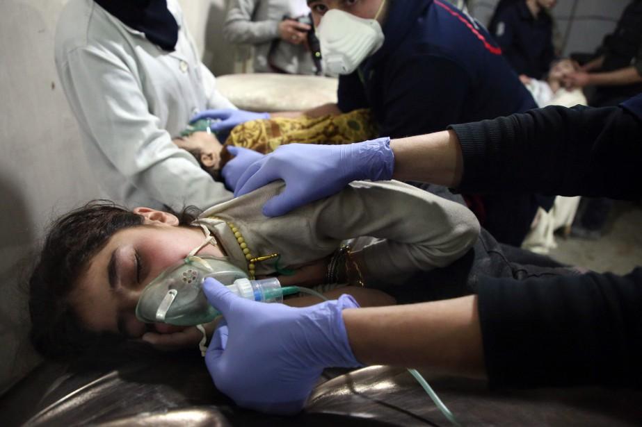 Plus de 900 civils y ont été tués... (Photo Amer Almohibany, Agence France-Presse)