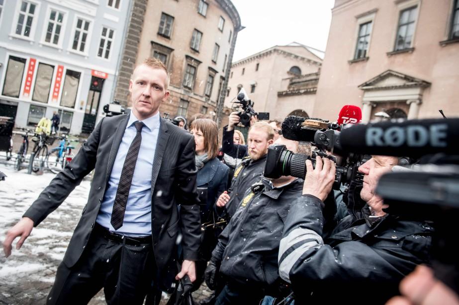 Le procureur Jakob Buch-Jepsen a exposé les faits... (Photo Mads Claus Rasmussen, Agence France-Presse)