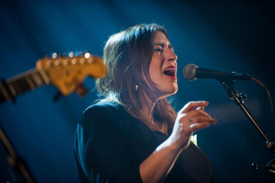 Elisapie Isaac, qui participait hier soir au spectacle-bénéfice... (Photo Catherine Lefebvre, collaboration spéciale)