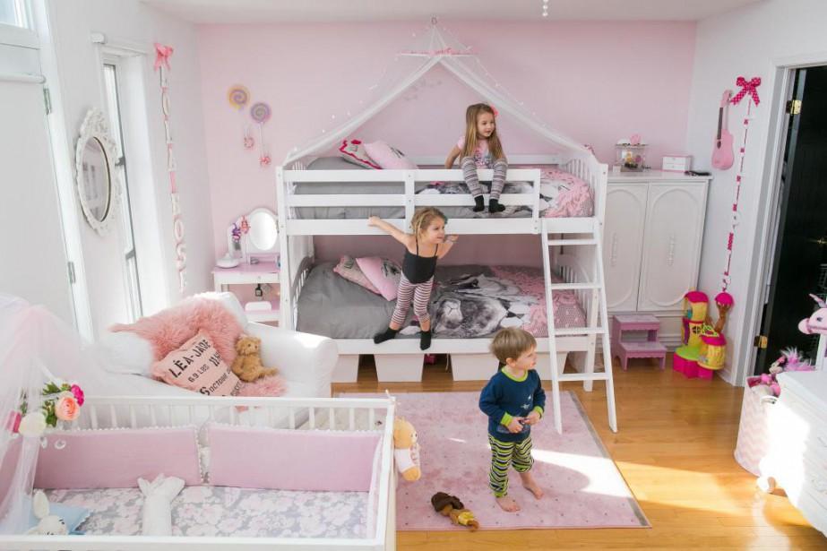 Une Chambre Plusieurs Enfants Nathaelle Morissette Amenagement