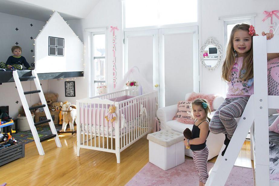 Une chambre, plusieurs enfants