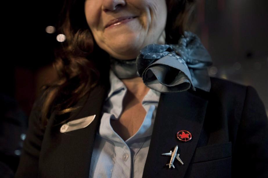 Les politiques d'Air Canada sur les uniformes ou... (Photo Darren Calabrese, archives La Presse canadienne)