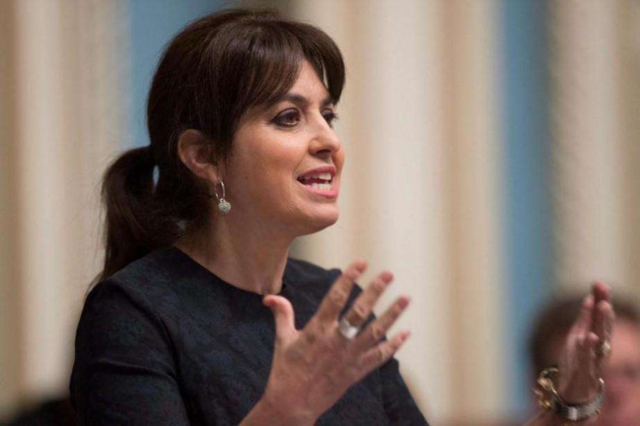 VéroniqueHivon, vice-cheffe du Parti québécois et porte-parole du... (Photo JacquesBoissinot, archives La Presse canadienne)